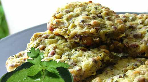 Moong Sprout Cutlets