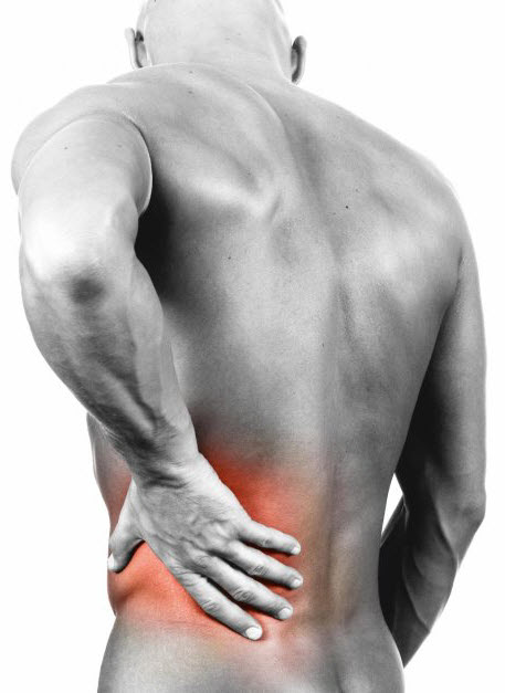 muscle strains in lower back pain