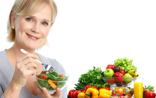 healthy diet for aged men and women
