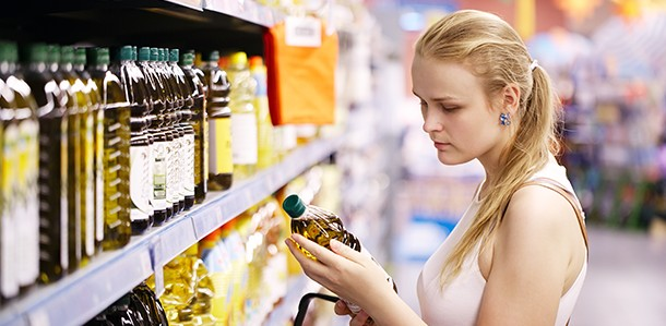 Not reading the labels on packaged foods