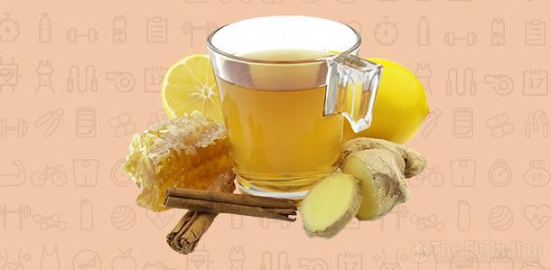 Cinnamon-honey-drink