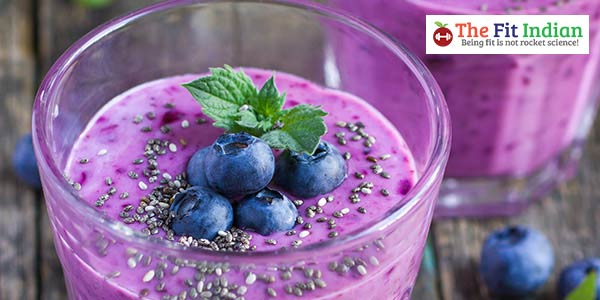 Blueberry-Smoothie