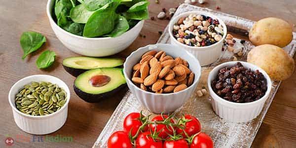 List of Foods containing potassium