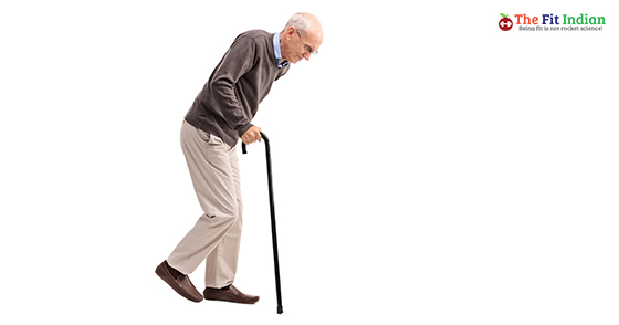 shuffling walk
