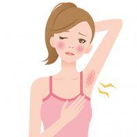 Remedies for Armpit bumps