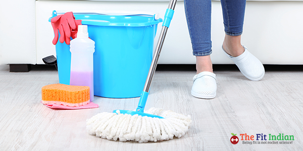 start cleaning your home