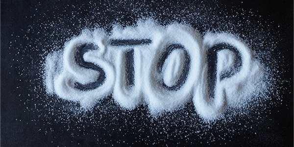 Cut back on salt