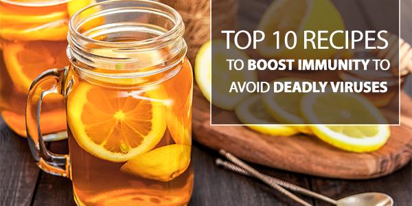 Recipes for immunity boosting