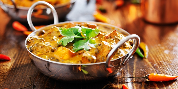 ginger peanut paneer curry