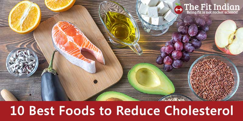 10 Best Foods to Reduce Cholesterol