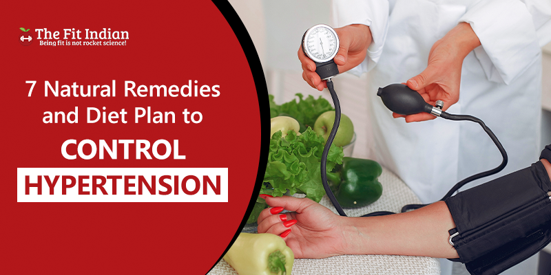 Natural ways and diet plan to manage hypertension