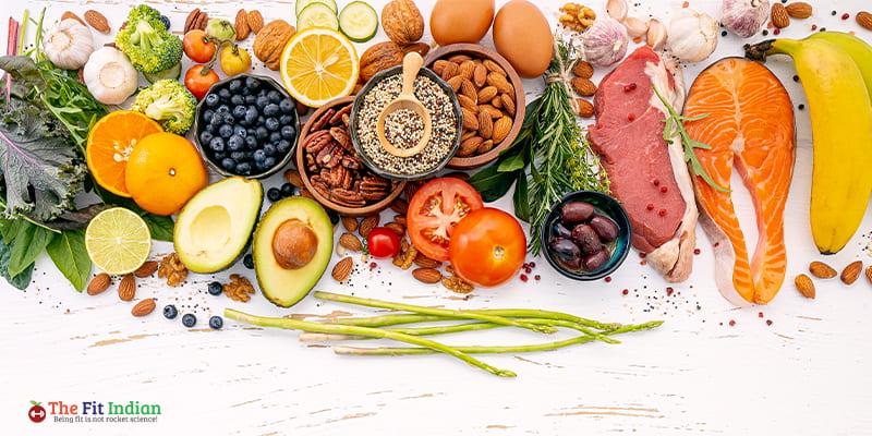Diet to reduce weight