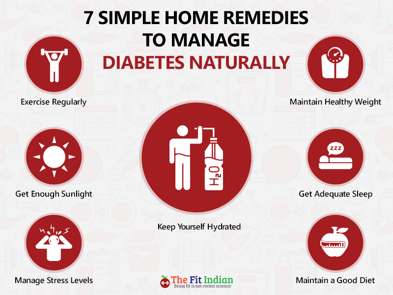 Best ways to control diabetes at home