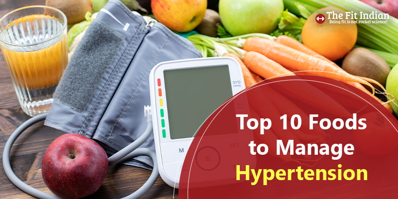 Best foods to manage high blood pressure