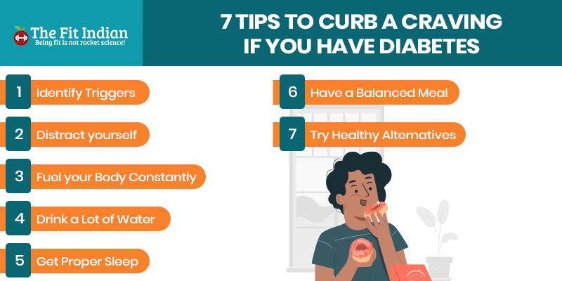 Tips to control cravings if you have diabetes