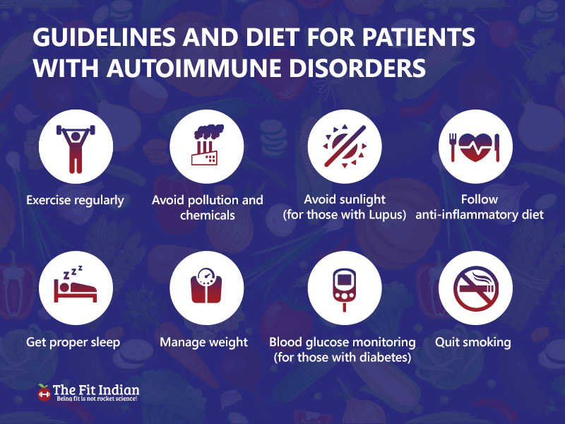Effective guidelines for patients with autoimmune disorders