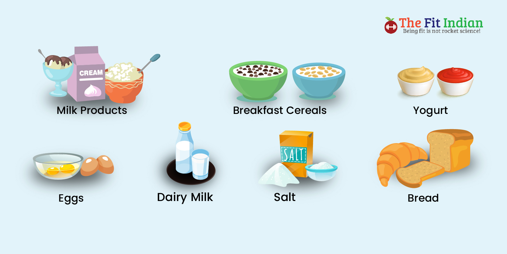 List of fortified foods